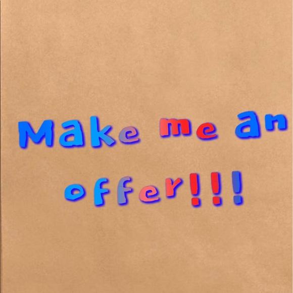 Make me an offer for any item!